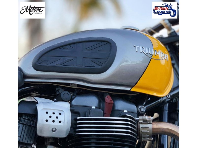 Motone Tank Knee Grips for Triumph Motorbikes