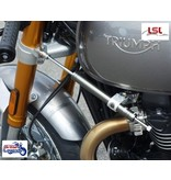 LSL Steering Damper Kit for Triumph Thruxton R
