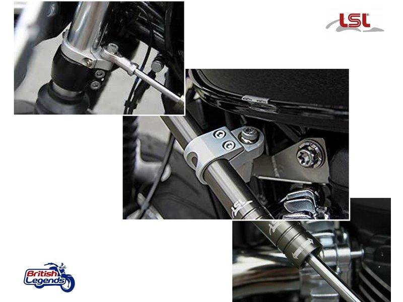 LSL Steering Damper Kit for Thruxton R/RS