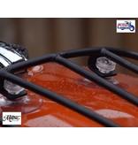 Motone Porte-Paquet de Réservoir en Inox