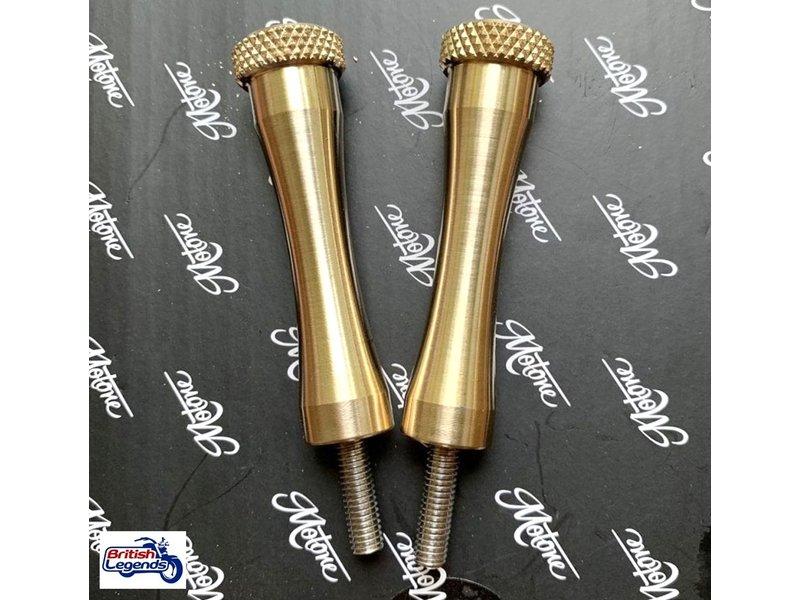 Motone Retro Seat Bolts for Triumph Twins