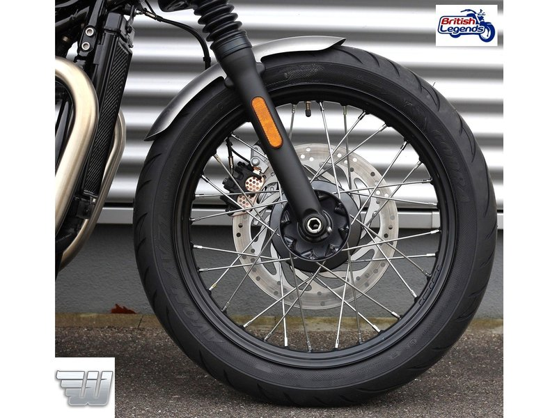 Wunderkind Steel Short Front Fender for Triumph Bobber
