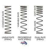 Wilbers Ressorts de Fourche Progressifs pour W650/W800