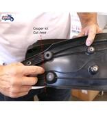 TEC Short License Plate Bracket for Scrambler 1200