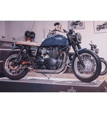 """MASS Moto """"Hot-Rod"""" Exhaust System for Triumph Twins"""