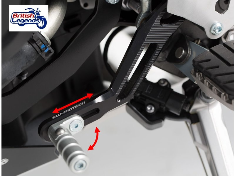 SW-Motech Adjustable Gear Shifter for Triumph Tiger 800