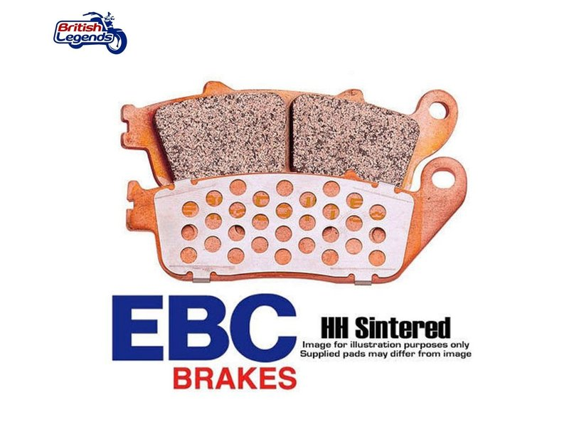 """EBC Plaquettes Sintérisées """"HH"""" Triumph Street Cup"""