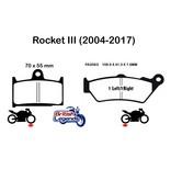 """EBC Plaquettes Sintérisées """"HH"""" Triumph Rocket III/3"""