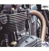 Motone Enjoliveurs en Laiton Massif pour Triumph Twins