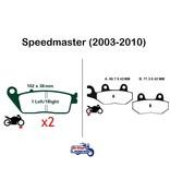 """EBC Plaquettes Sintérisées """"HH"""" Triumph Speedmaster"""
