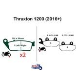 """EBC """"HH"""" Sintered Pads for Triumph Thruxton"""
