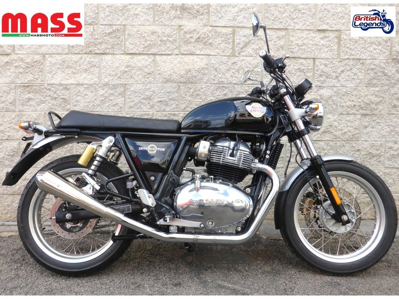 MASS Moto Stainless Steel Silencers for Royal-Enfield