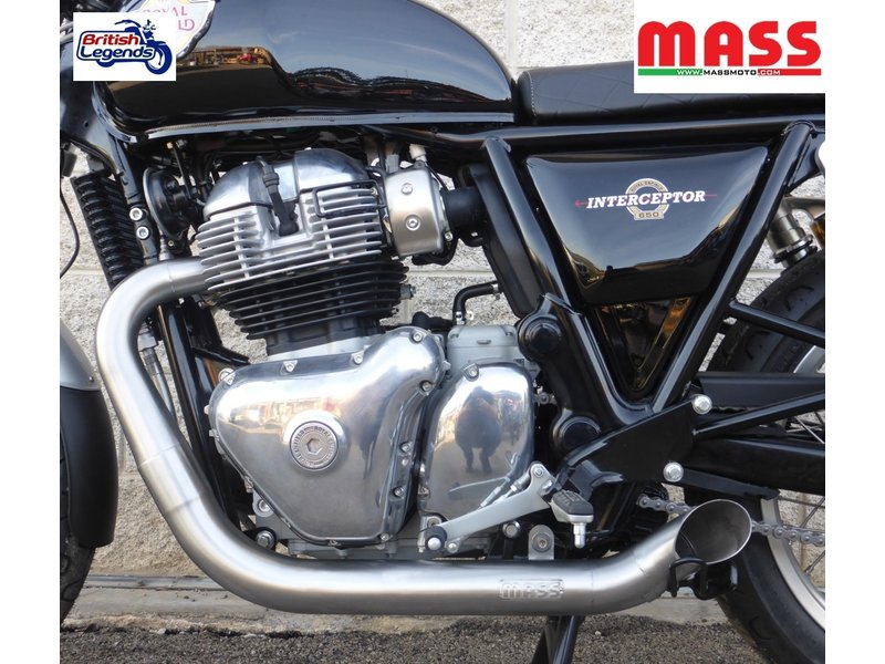 MASS Moto Stainless Steel Exhaust System Royal-Enfield