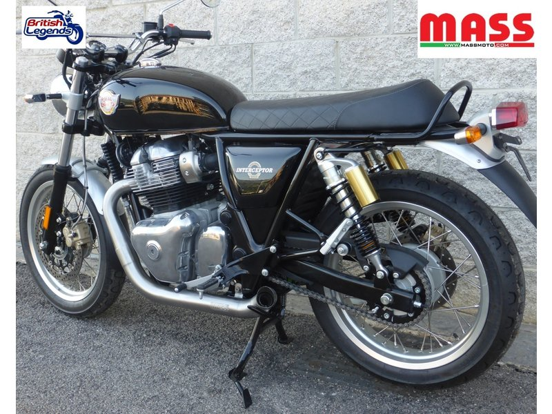 "MASS Moto ""Hot-Rod"" Exhaust System Royal-Enfield"
