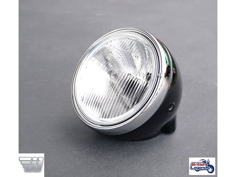 Wunderkind Vintage-Look Headlight with Integrated Speedometer