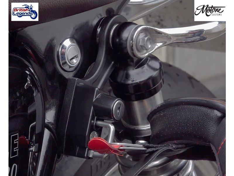 Motone Antivol de Casque pour Triumph Twins 900/1200cc