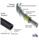 HEL Performance Braided Brake Hoses for Triumph Rocket III