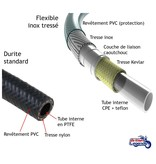 HEL Performance Flexibles Tressés Inox pour Triumph Rocket III