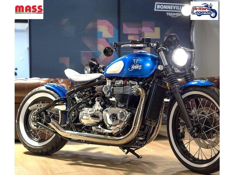 "MASS Moto Ligne Inox ""Hot-Rod"" pour Bobber/Speedmaster"