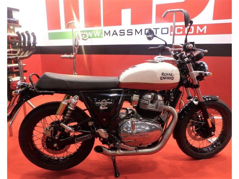 "MASS Moto Ligne Inox ""Hot-Rod"" pour Royal-Enfield"