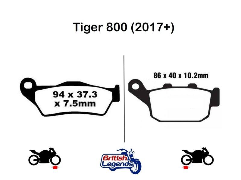 Ferodo Plaquettes Ferodo Eco-Friction pour Triumph Tiger