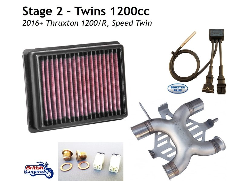 Engine Upgrade Kits for Triumph Twins 900/1200cc