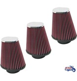 K&N Set of 3x K&N Filters for Triumph Rocket III