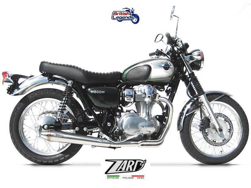 MASS Moto Zard Exhaust System for Kawasaki W800