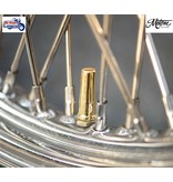 Motone Solid Brass Tyre Valve Caps (priced for a pair)