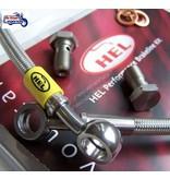 HEL Performance Flexibles de Freins Tressés pour W650/W800
