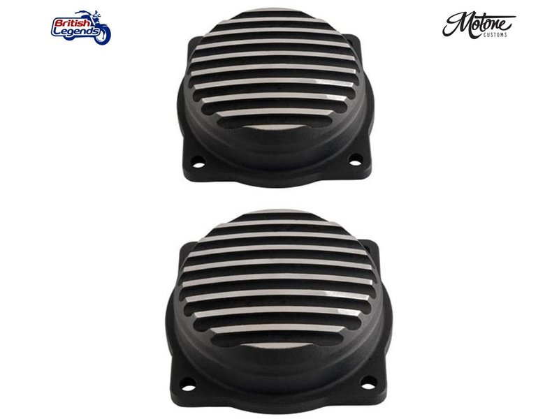 Motone Injector Covers for Triumph Twins EFI