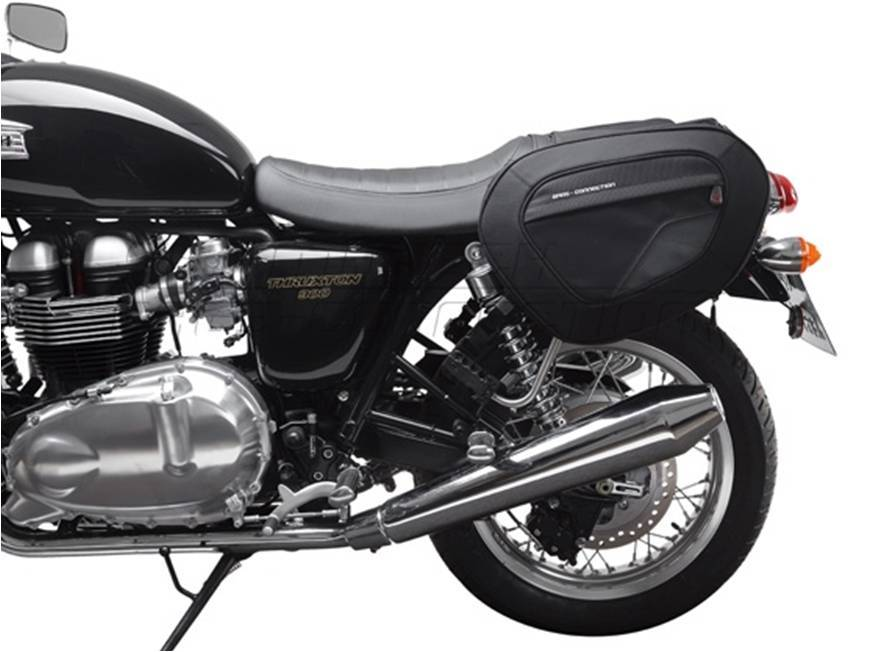 Blaze Sports Saddlebags For Triumph Twins British Legends