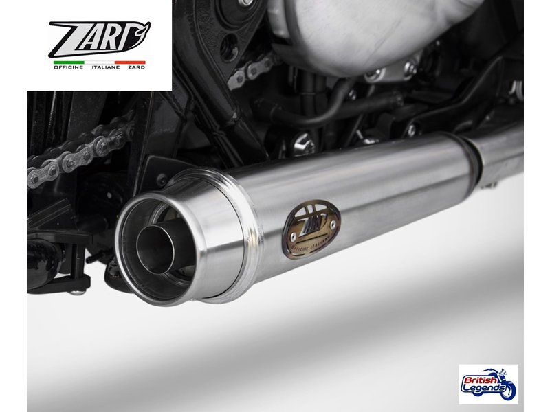 Zard Zard Exhaust System for Triumph Bobber