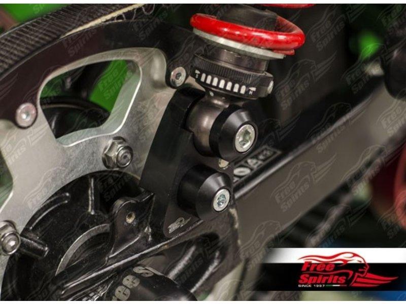 Free Spirits Riser Blocks Kit +35mm for Triumph Twins