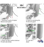 EvoTech Protection de Radiateur Triumph Scrambler 1200