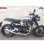 "MASS Moto Ligne Inox ""Tromb"" pour Triumph Speed Twin"