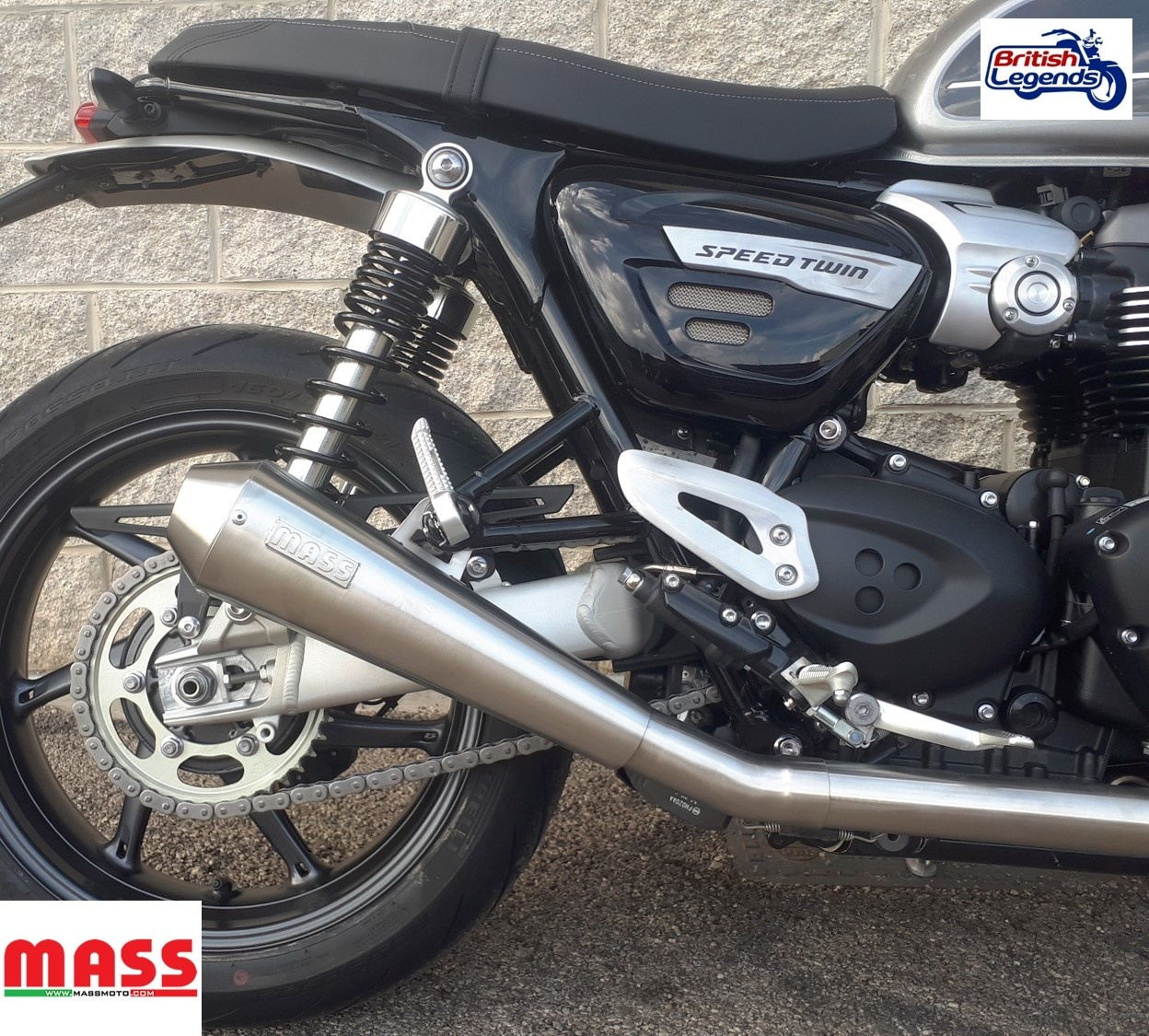 2 Into 1 Exhaust System For Triumph Speed Twin Triumph Parts
