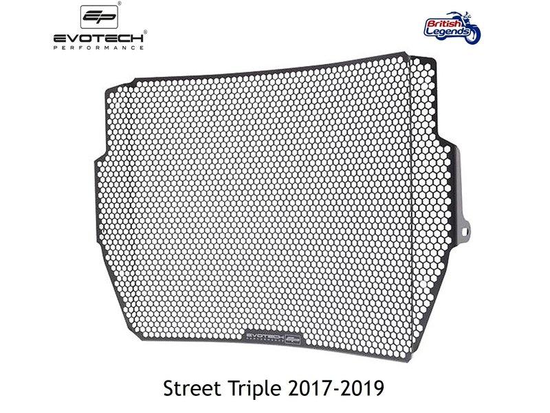EvoTech Protection de Radiateur pour Triumph Street Triple