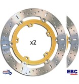 EBC Front Brake Discs for Triumph Sprint 955/1050