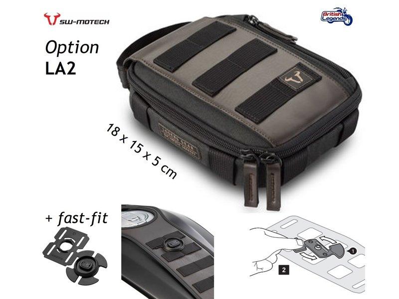 SW-Motech Tank Strap and Accessory Bag Triumph Twins