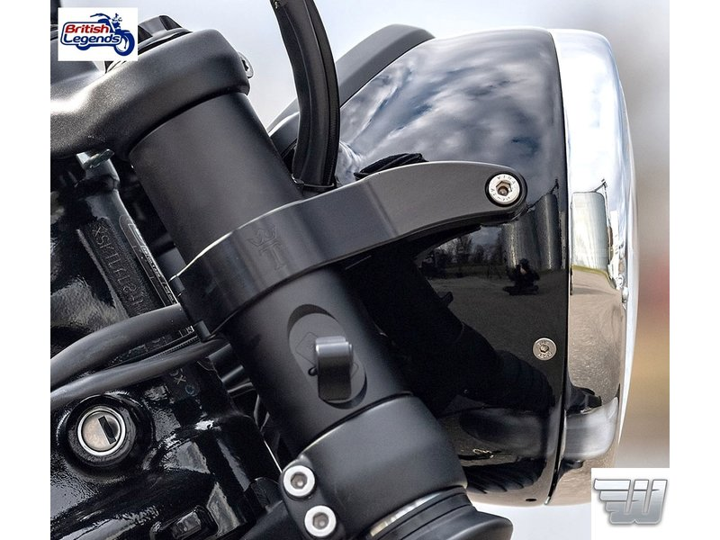 "Wunderkind Sleek-look ""Twinton"" Headlight Brackets"