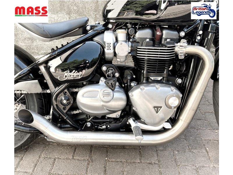 "MASS Moto ""Hot-Rod"" Exhaust System Bobber"