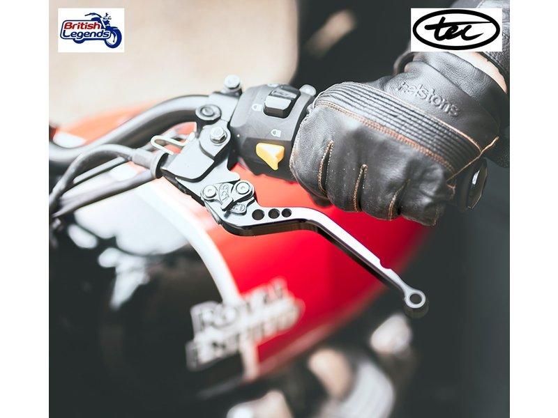 TEC Adjustable Alloy Levers for Royal-Enfield 650cc