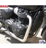 """MASS Moto Ligne 2-en-2 Inox MASS """"Under Engine"""""""