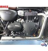 """MASS Moto MASS """"Under Engine"""" Exhaust System (s/steel)"""