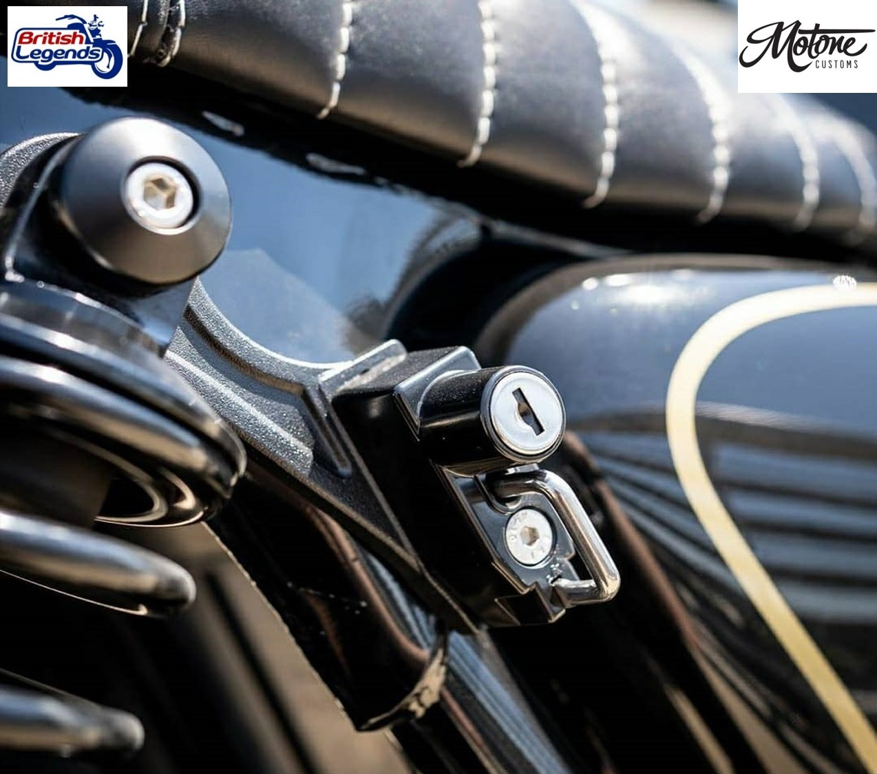 Helmet Safety Lock For Triumph Twins Triumph Parts