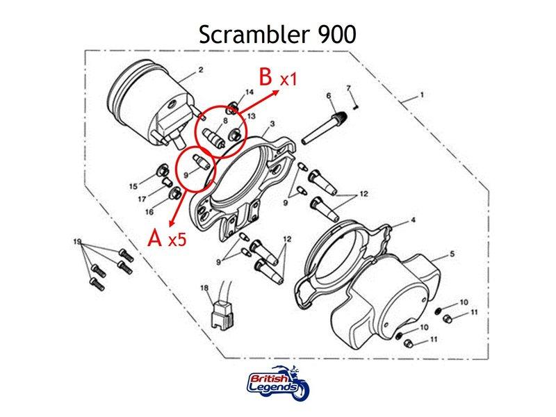 Mini-ampoules T6.5/T10 pour Compteurs Triumph