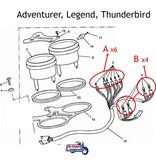 Mini T6.5/T10 Bulbs for Triumph Dashboard Lights