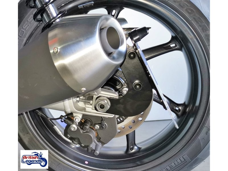 Side-Mount License Bracket for Triumph bikes