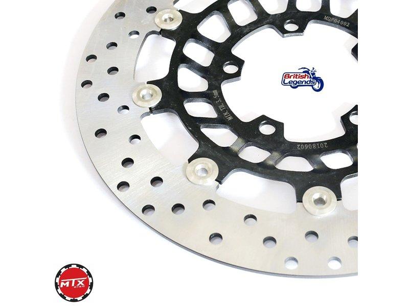 Front brake discs for Triumph Daytona 675